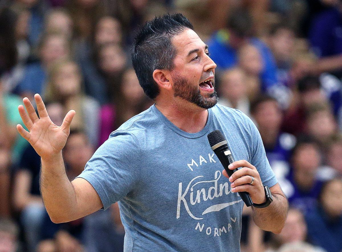 Speaker part of character-building curriculum at La Crosse area schools
