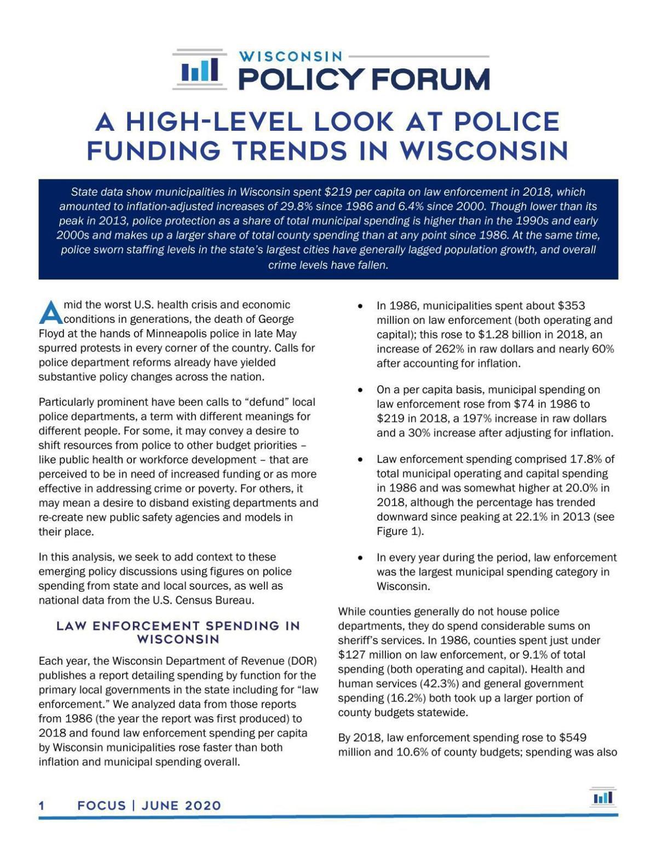 June 2020 WPF report