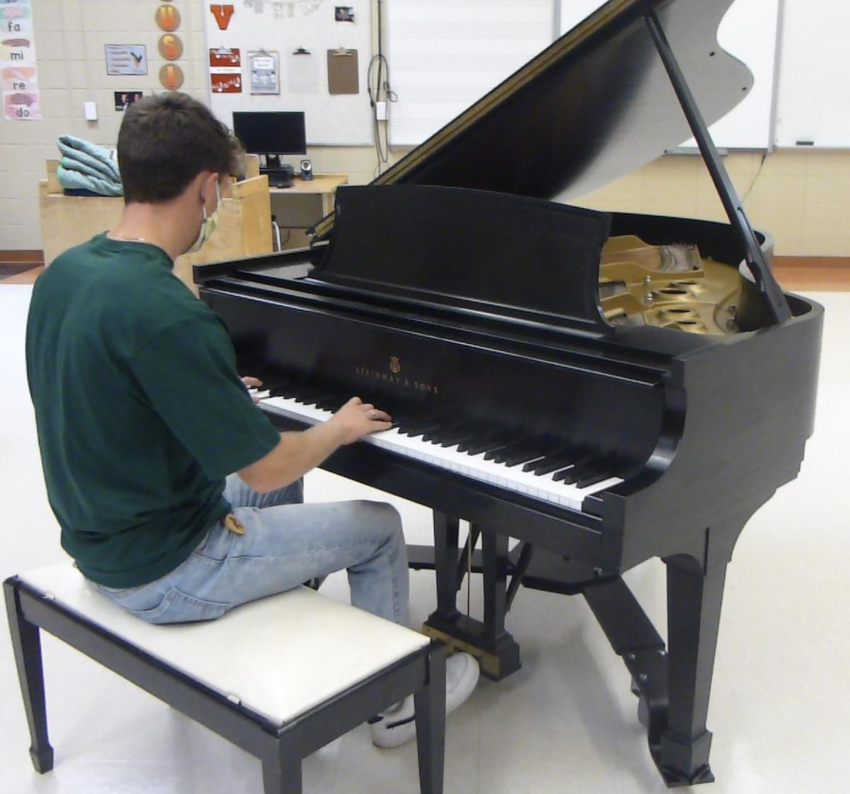 Tickling the old ivories