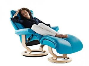 Ekornes Magic Recliner & Ott.