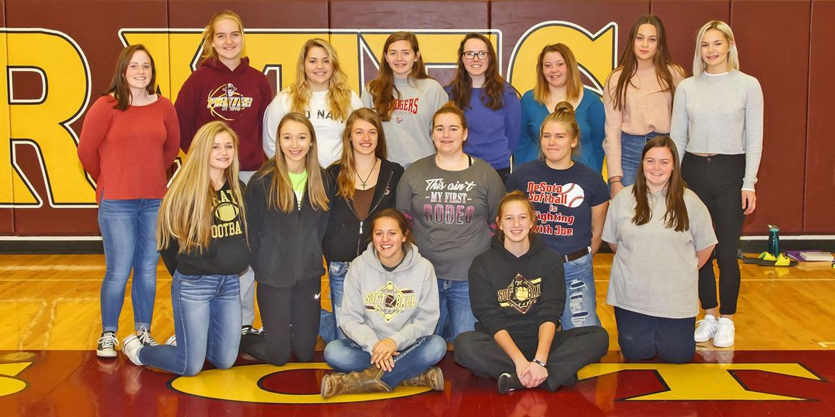 2017 De Soto High School girls basketball team