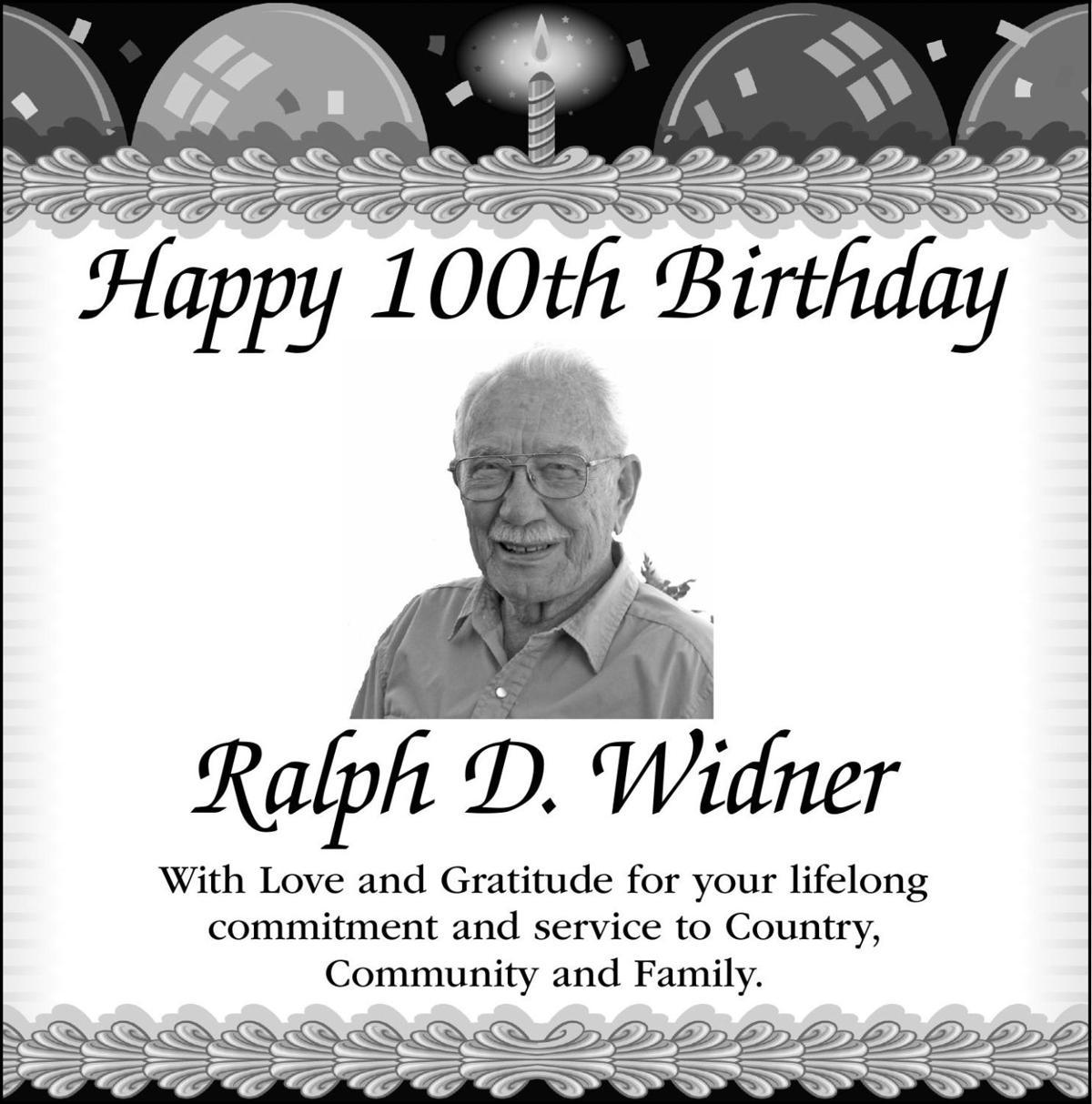 Ralph D. Widner