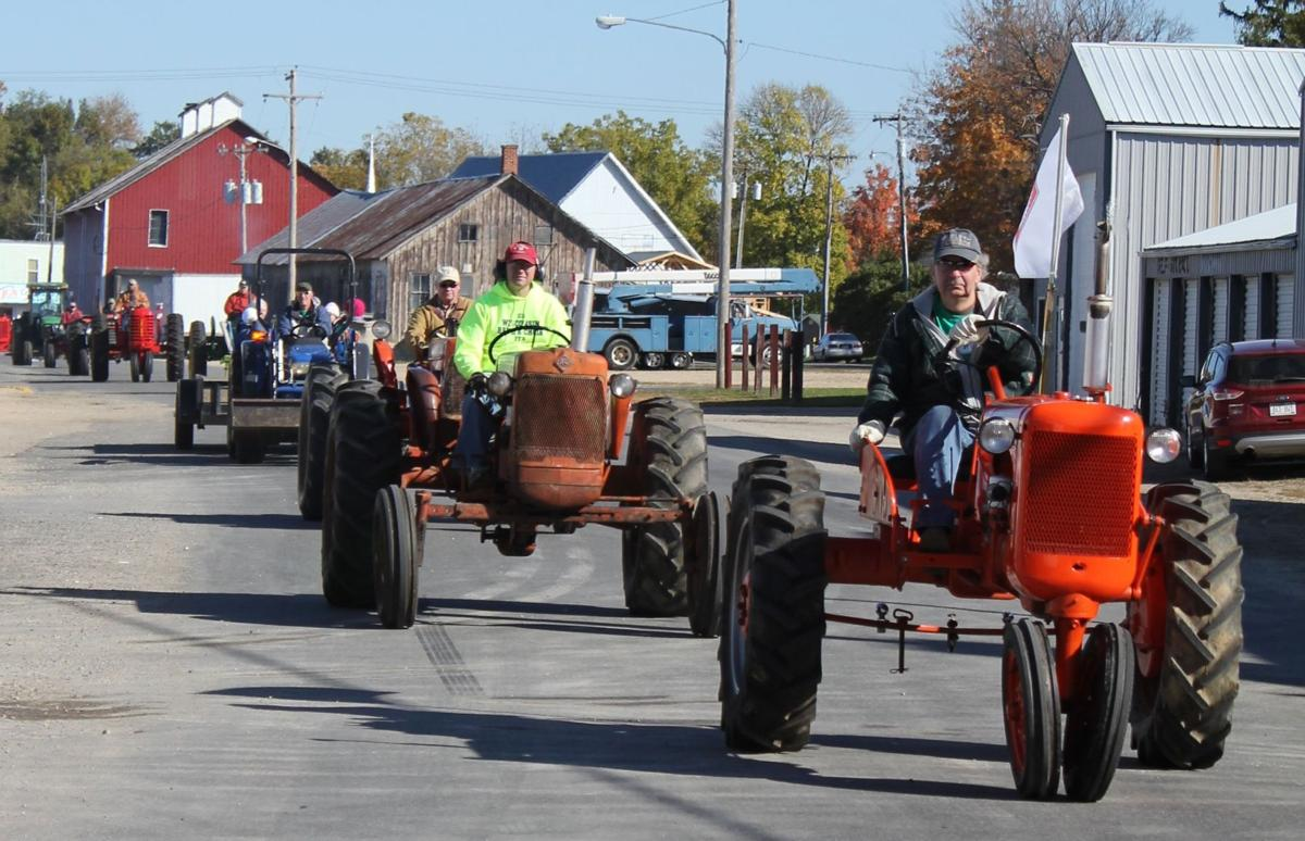 Fall tractor ride