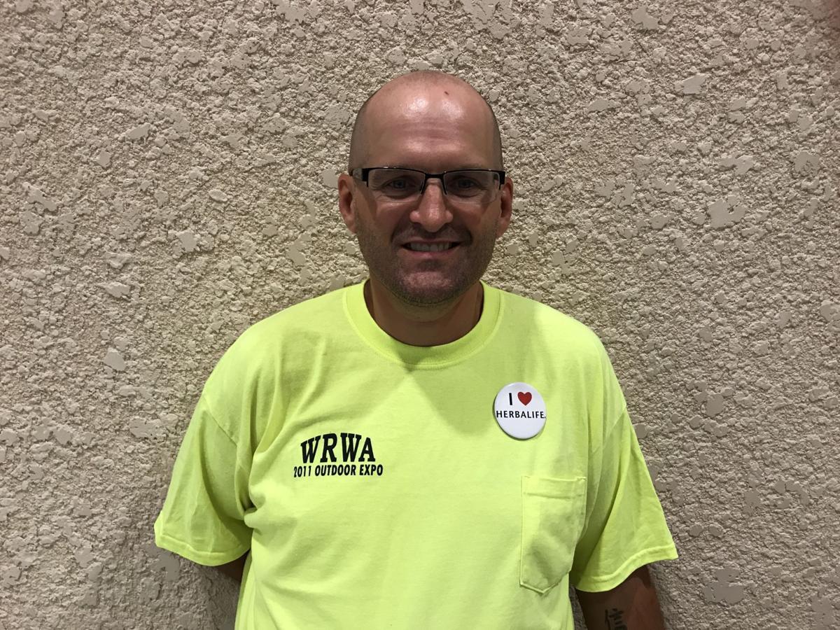 Chris Sader, formerly homeless