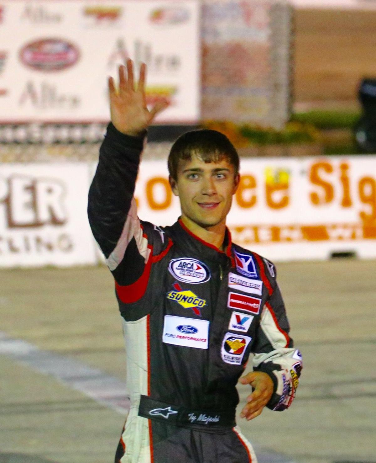 Ty Majeski in thick of national short-track chase