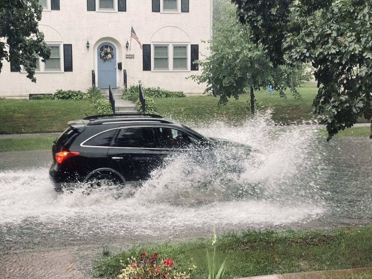 Heavy rains in La Crosse