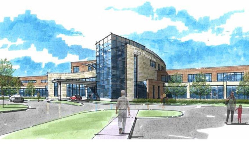 Proposed new Tomah Memorial Hospital