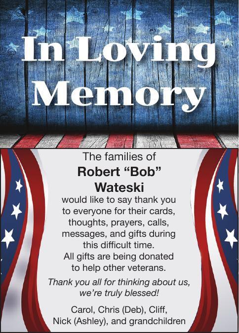 "Robert ""Bob"" Wateski"