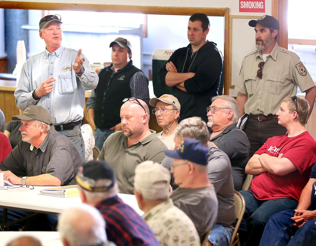 Rail meetings draw ire over lost river access local for Clements fishing barge