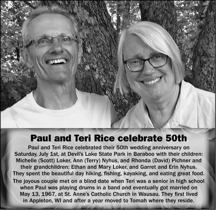 Paul and Teri Rice