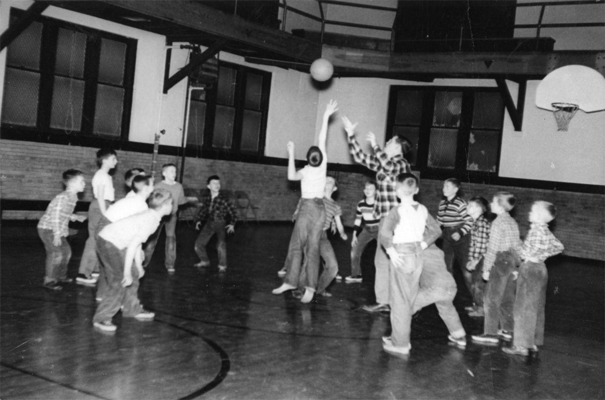 Hometown History Ymca Basketball In 1954 Local
