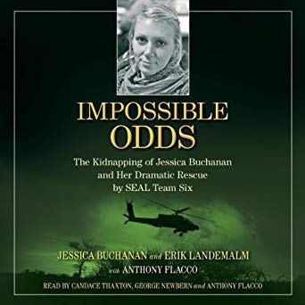 Book cover: 'Impossible Odds' by Jessica Buchanan and Erik Landemalm