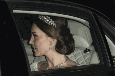 Kate Middleton Looked Stunning In Princess Diana's Favorite Tiara At A Buckingham Palace Party