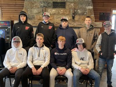 Westby-Viroqua co-op boys golf team 2021