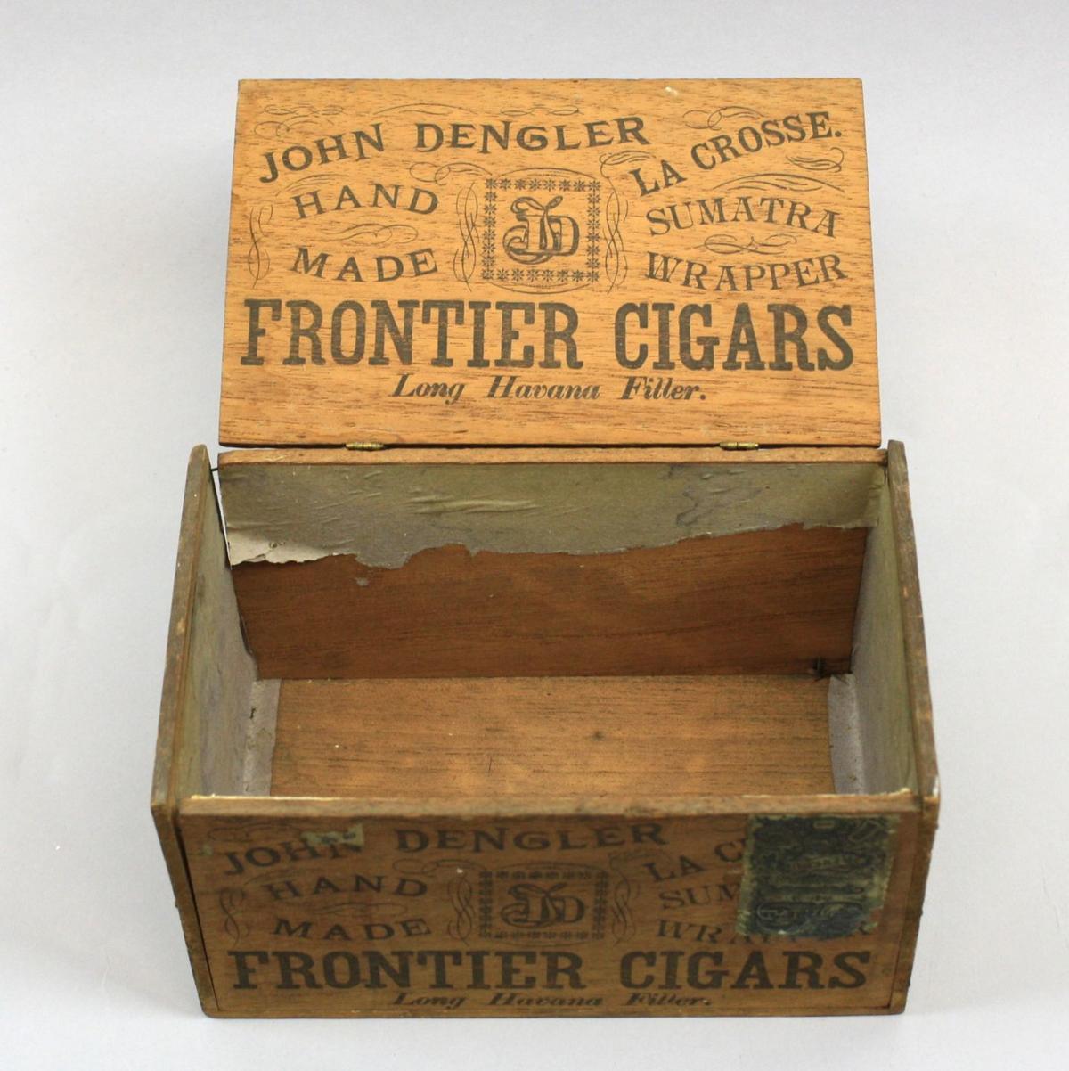John Dengler Cigar Co. box