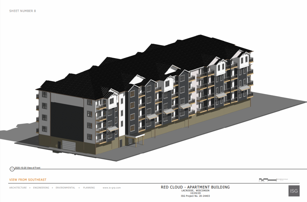 Red Cloud Apartments rendering