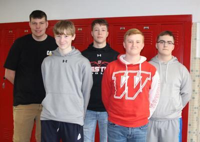 Westby High School boys golf team 2019
