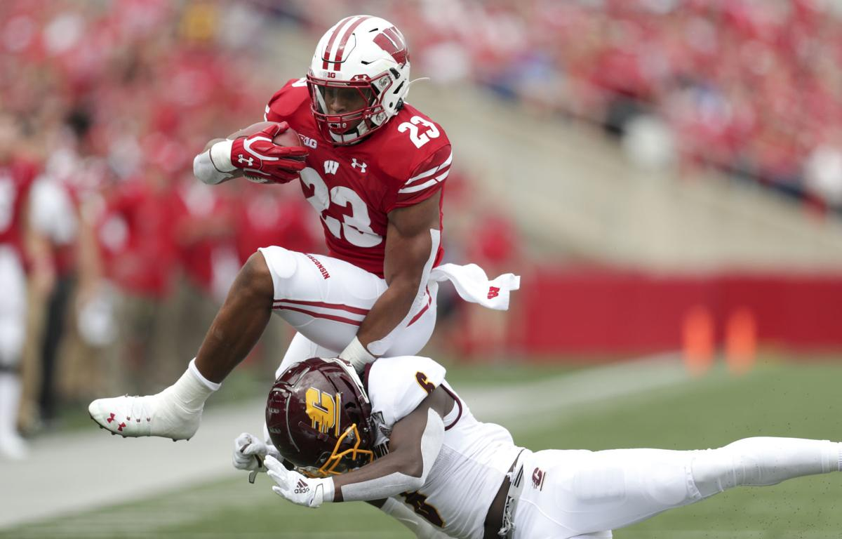 Badgers 61, Chippewas 0
