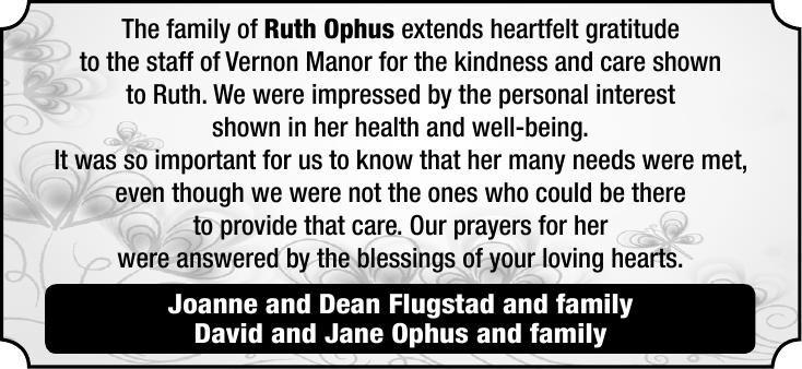 Ruth Ophus