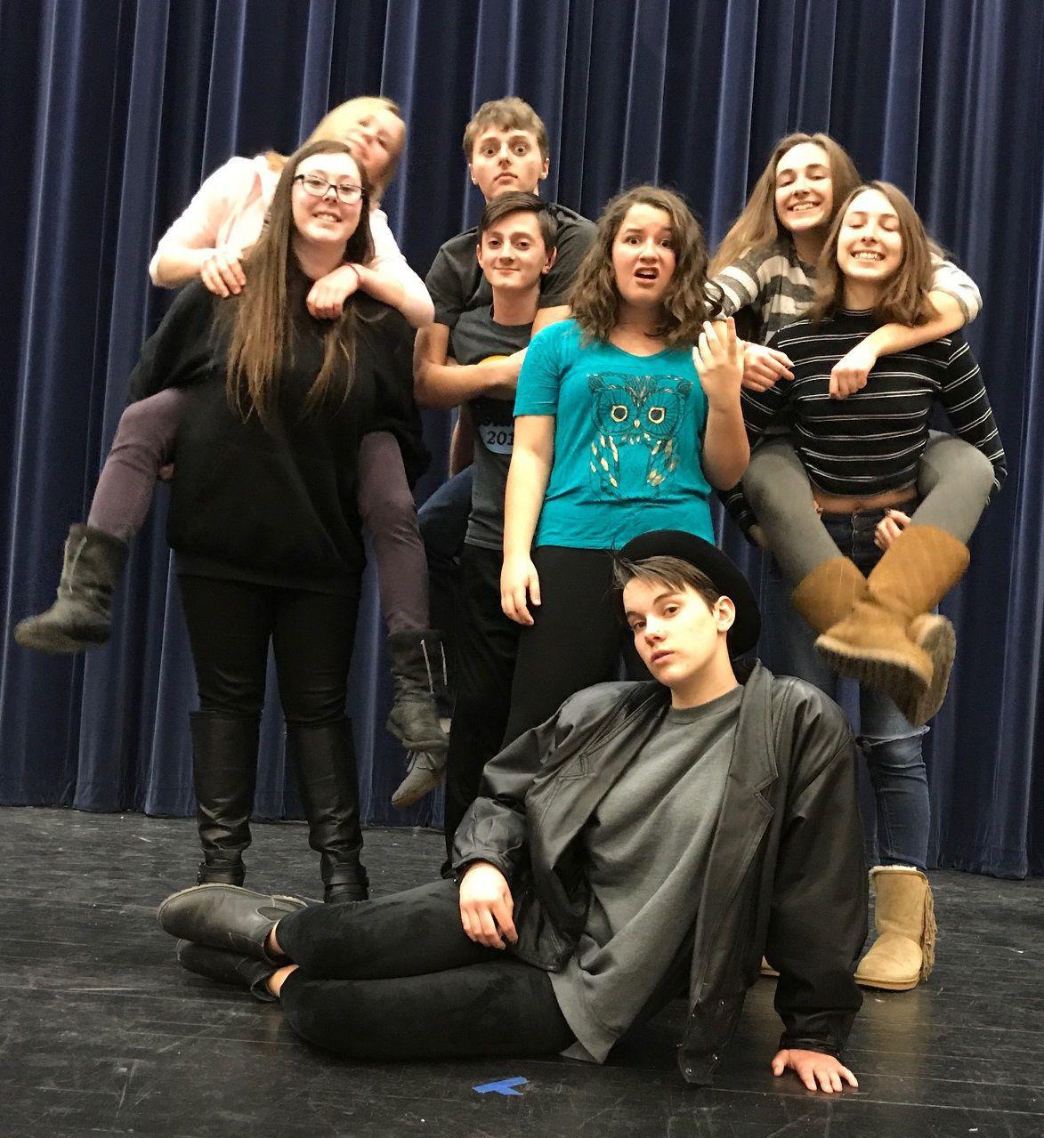 Viroqua High School Improv Troupe