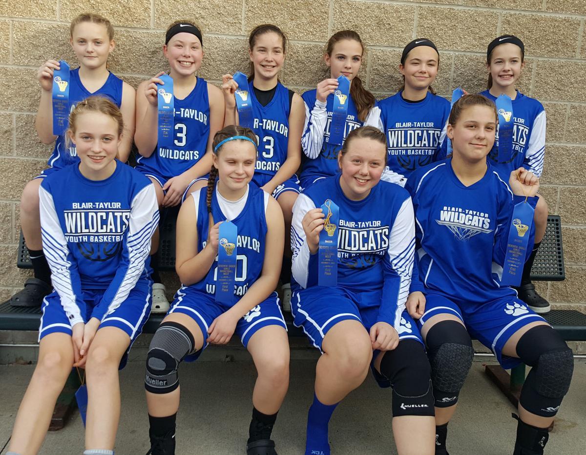 Blair-Taylor seventh grade girls win Northwest Tournaments