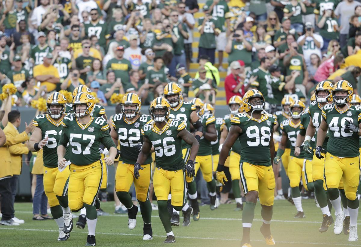 Packers run onto field