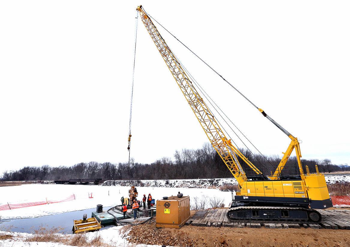 Miller's Pond Bridge Construction