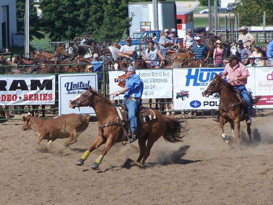 Ranch Rodeo Makes Debut At Monroe County Fair Tomah