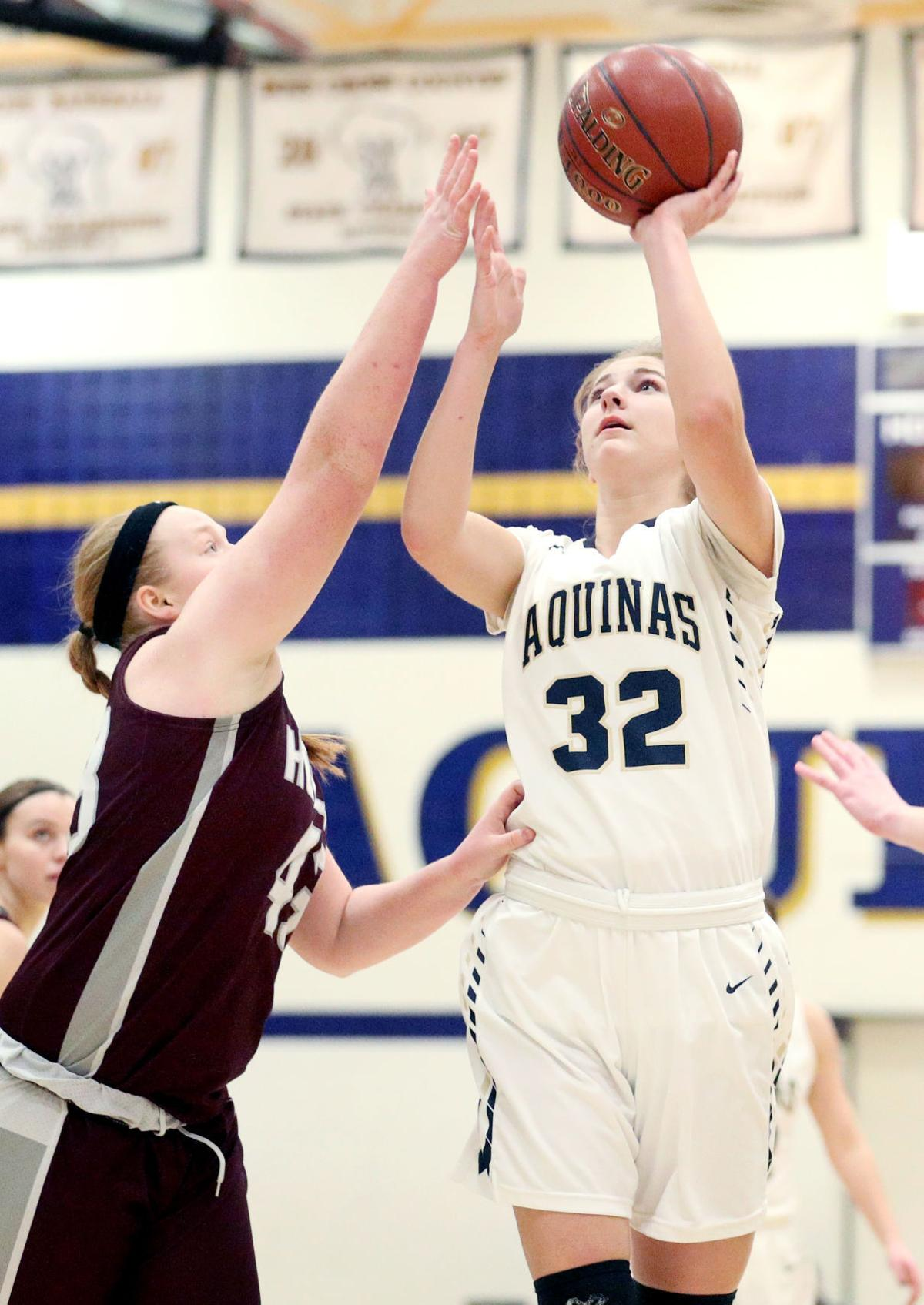 Aquinas' Courtney Becker