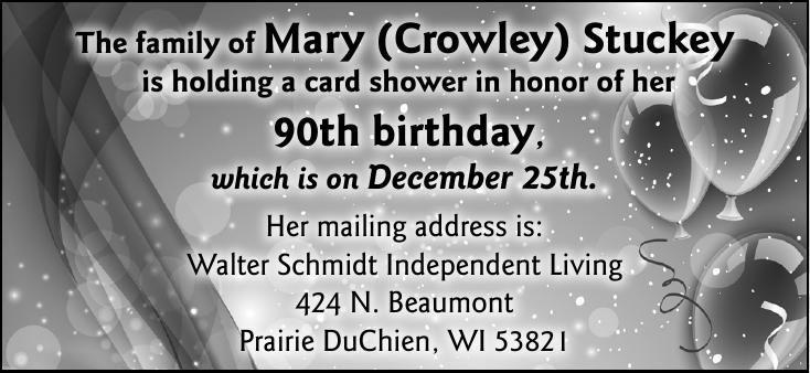 Mary Stuckey