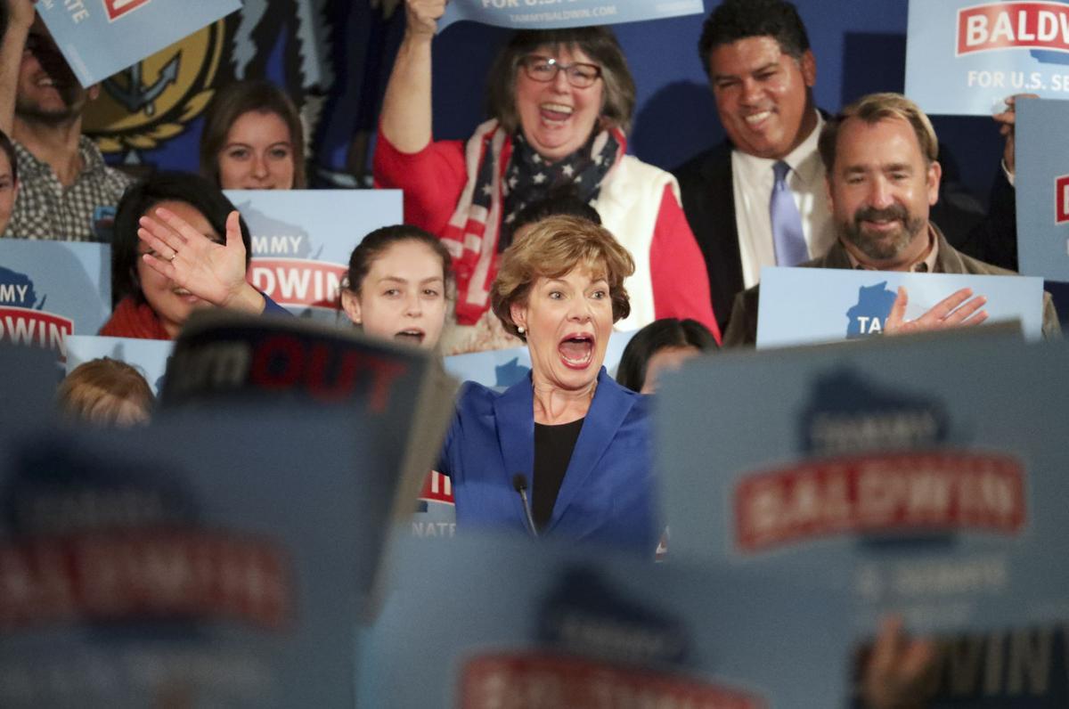 Baldwin wins re-election