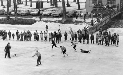 The Way it Was: 1964 speed skating race
