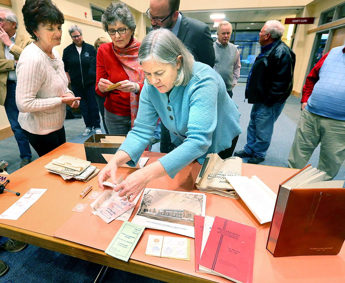 Time capsule from 1965 La Crosse County courthouse includes a surprise