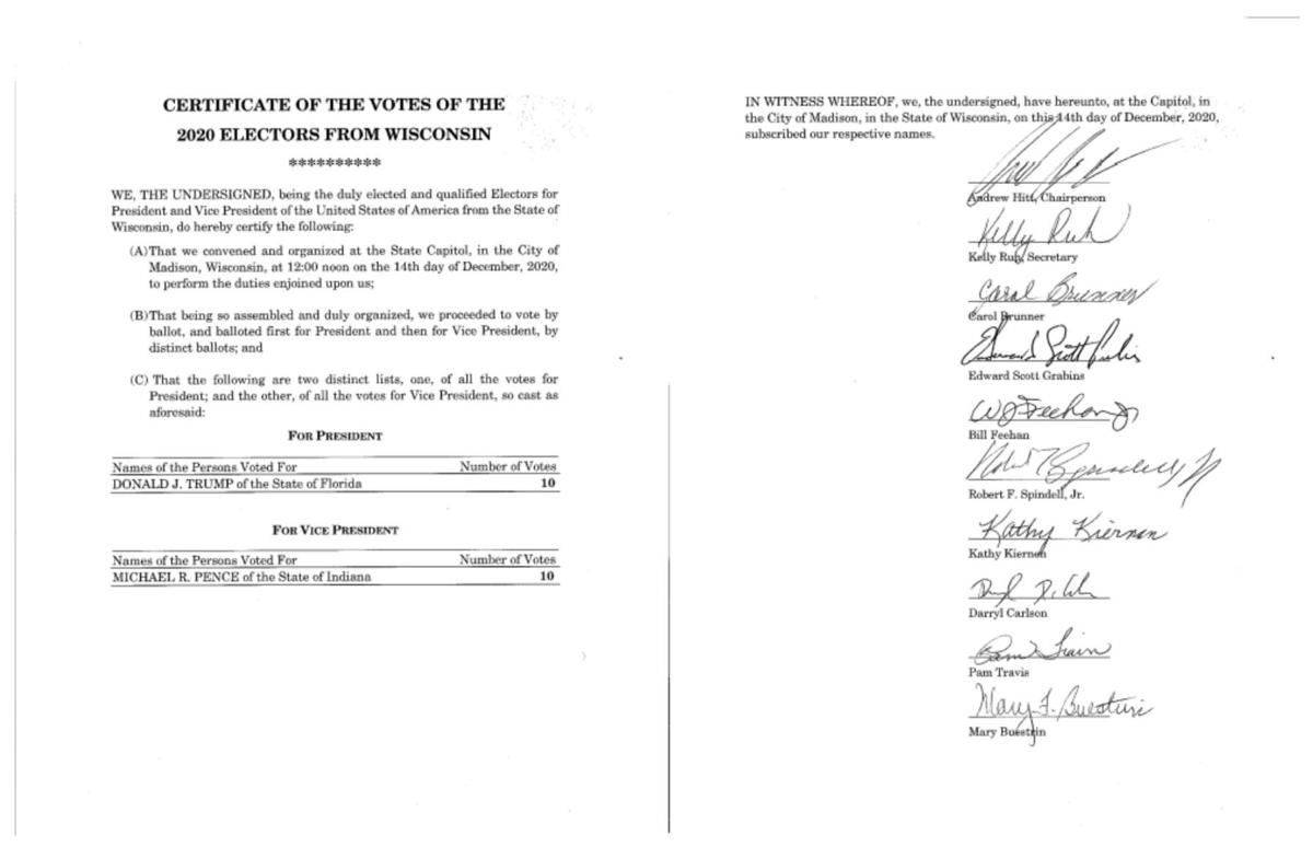 Alleged fraudulent document from Feehan, other state GOP