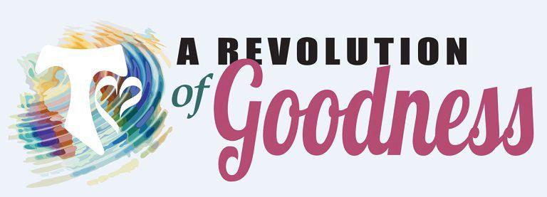 A Revolution of Goodness logo