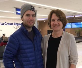 David Reckase and mom, Mary Mundt Reckase