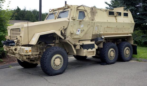 02118f72db9 Report  Police got  28M in surplus military gear