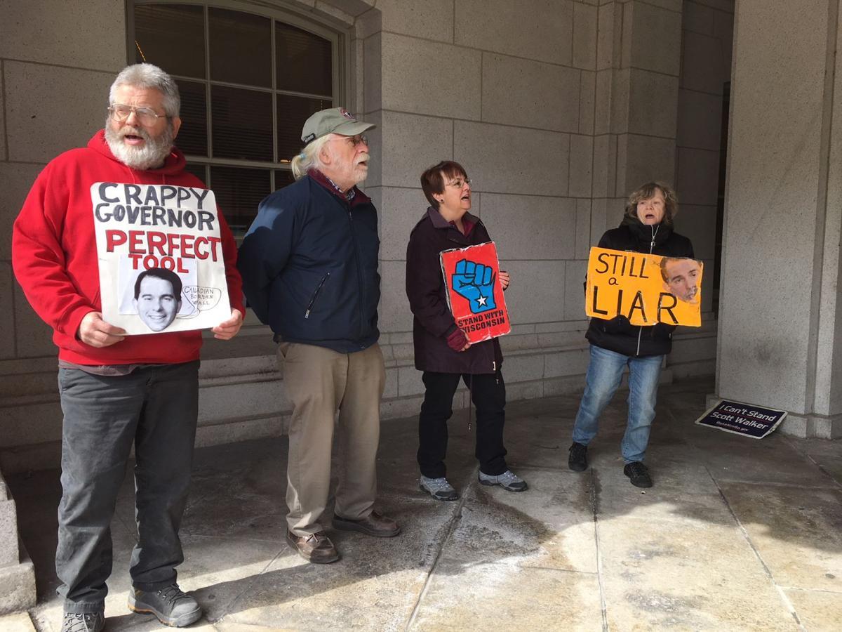 Solidarity Sing-Along celebrating seven years of protesting Scott Walker