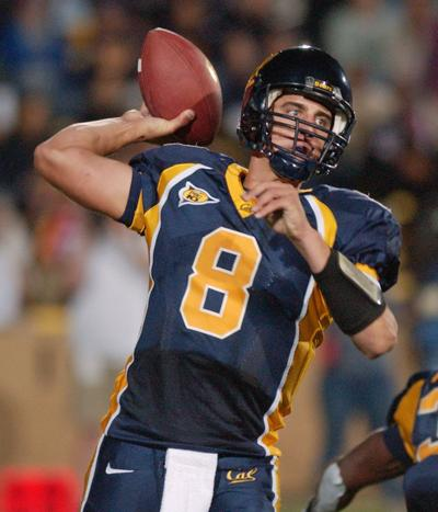 2004-10-16: Aaron Rodgers draft prospect at Cal