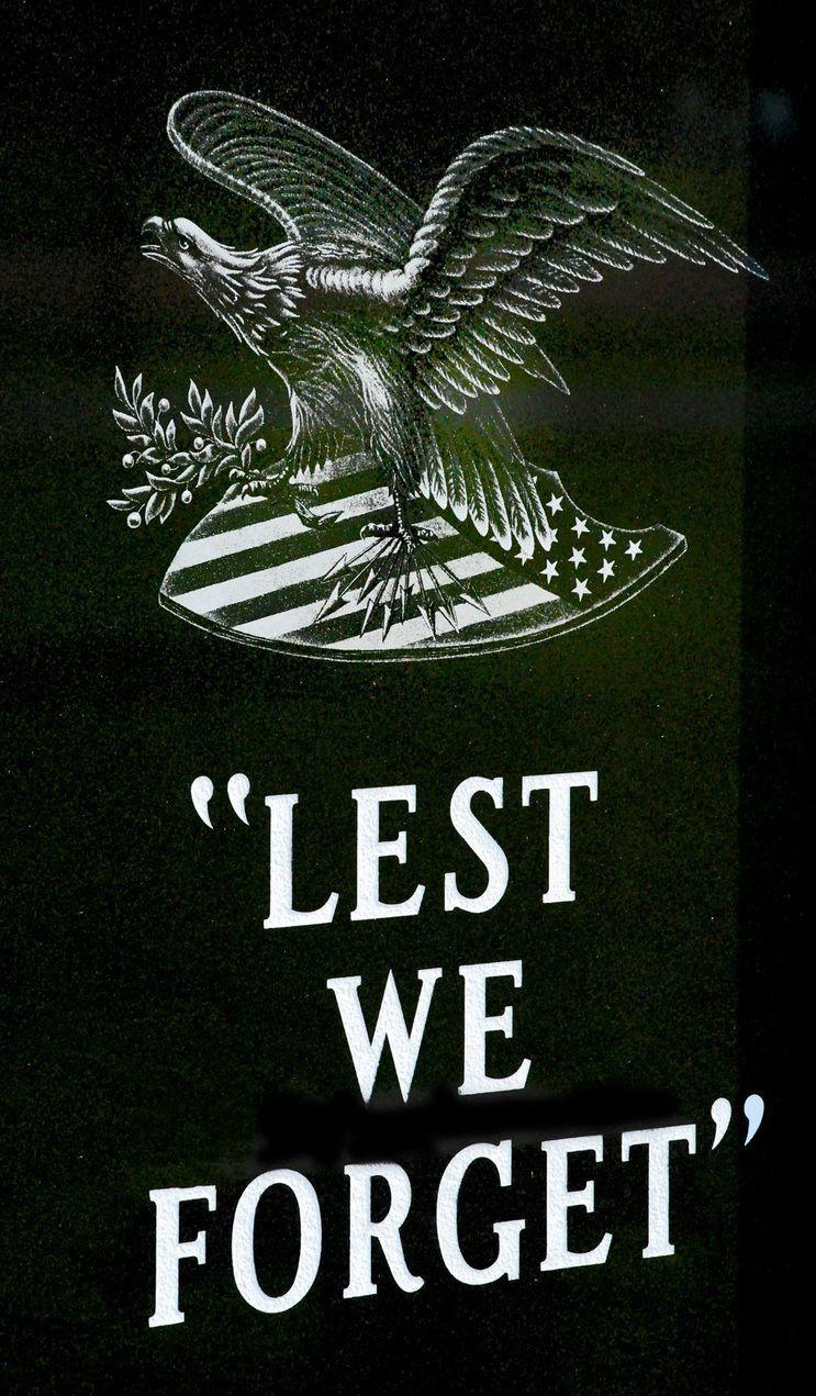 Westby Area Veteran's Memorial engraving