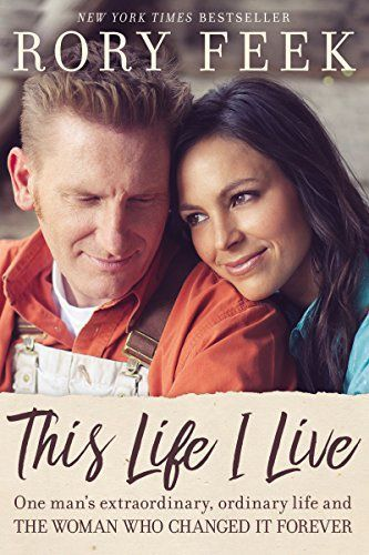 Book cover: 'The Live I Live' by Rory Feek