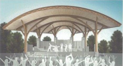 Bandshell renderings