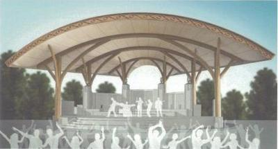 Bandshell renderings