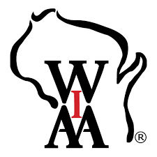 WIAA logo, generic file photo