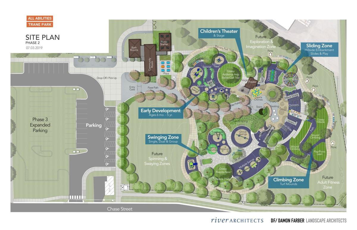Trane Park rendering