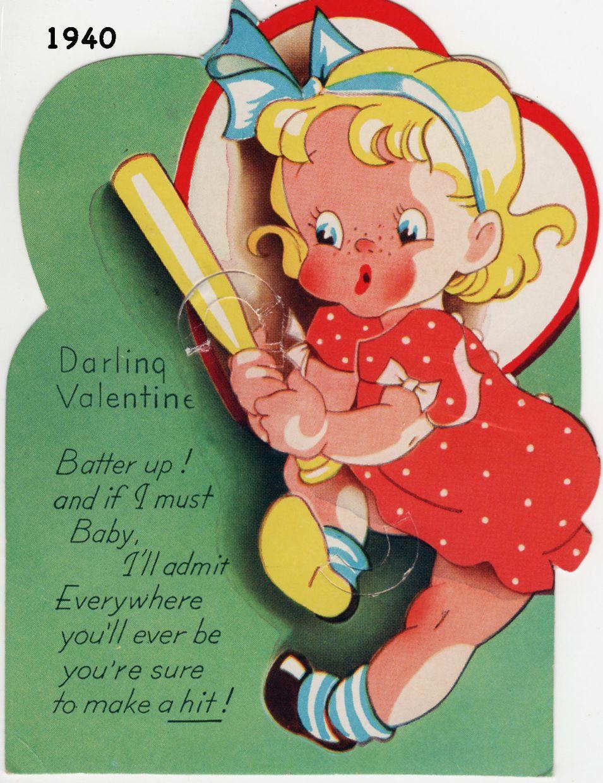 Valentine from 1940