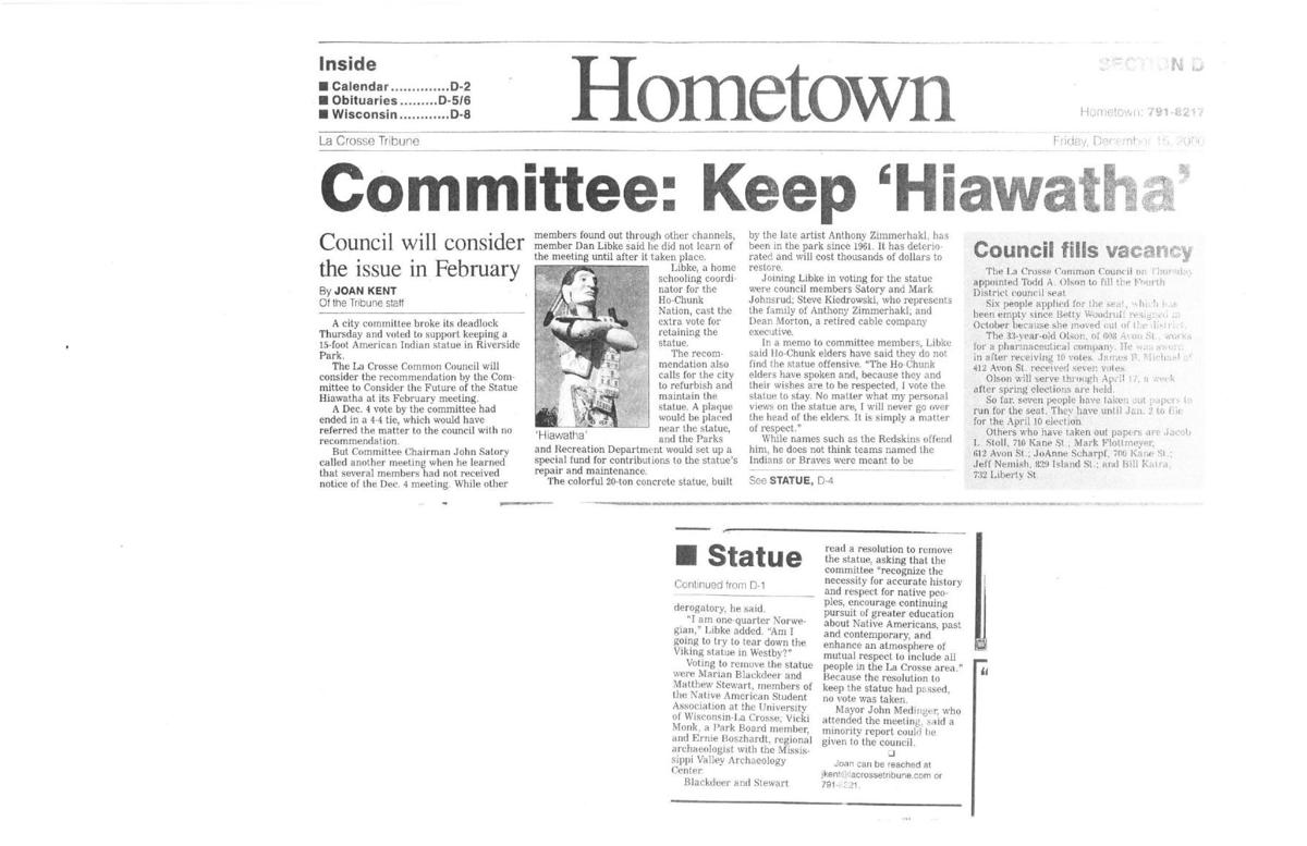 Committee: Keep Hiawatha
