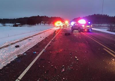 Monroe County car crash