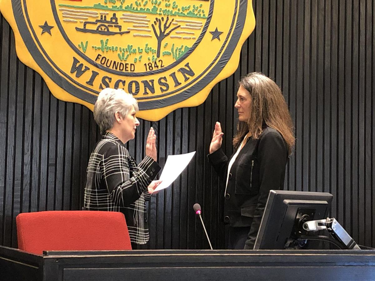 Kahlow swearing in