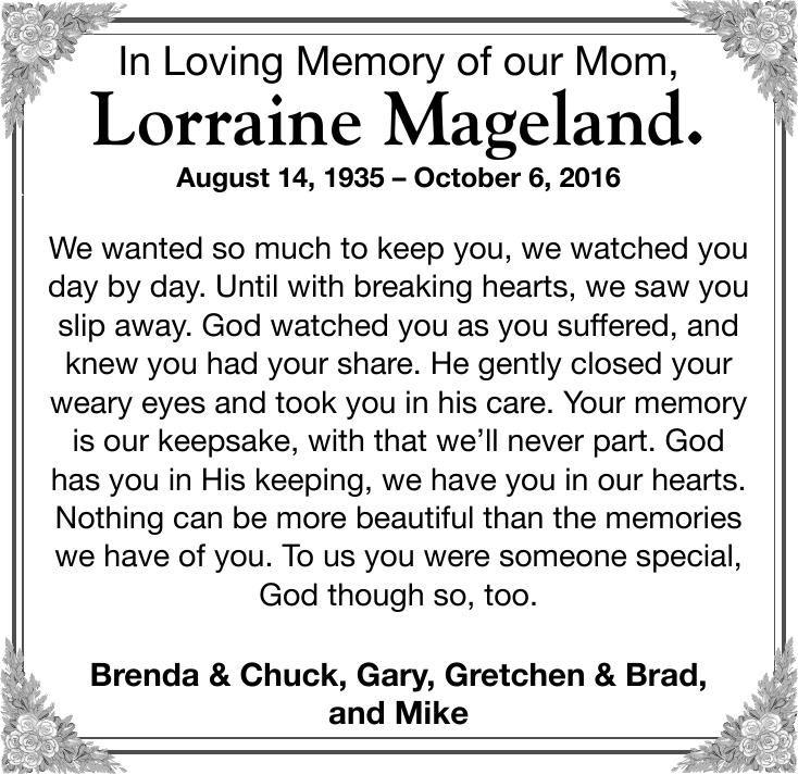Lorraine Mageland